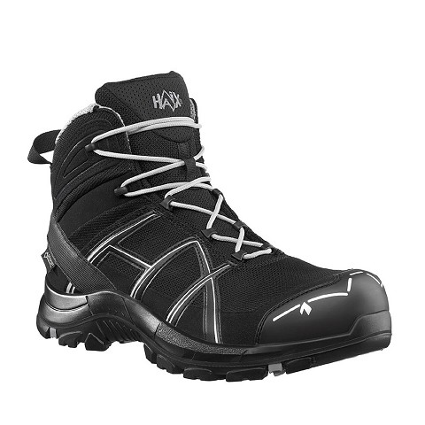 BLACK EAGLE SAFETY 40 MID BLACK-SILVER S3 W